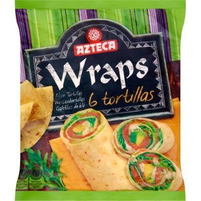 Azteca Wraps Tortillas