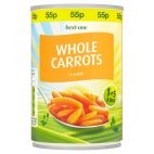 Best one whole carrots