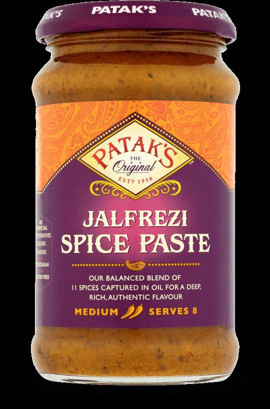 Patkas Jalfrezi Spice Paste