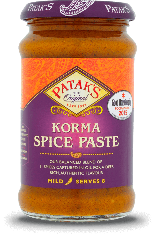 Patkas Korma Spice Paste