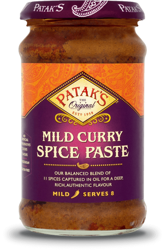Patkas Mild Curry Spice Paste