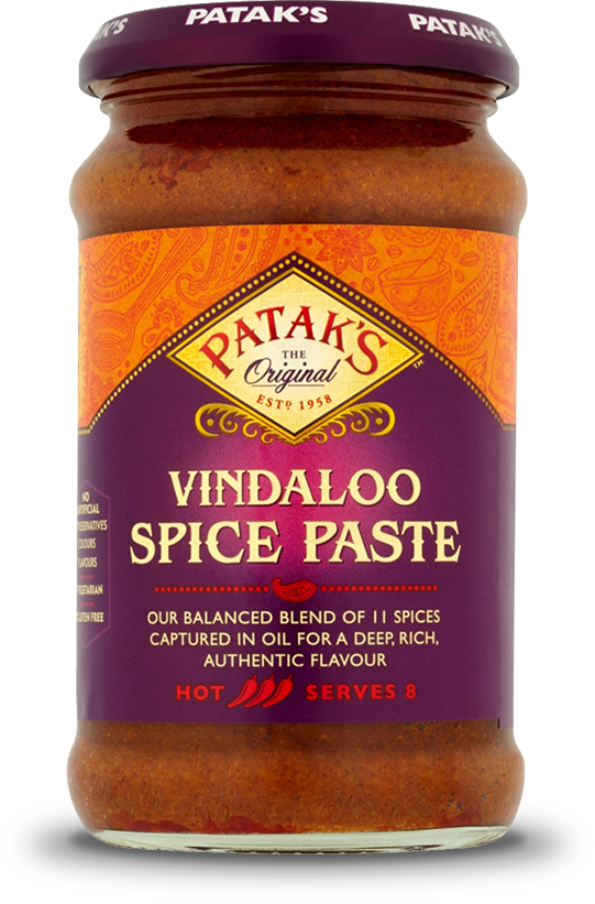 Patkas Vindaloo Spice Paste