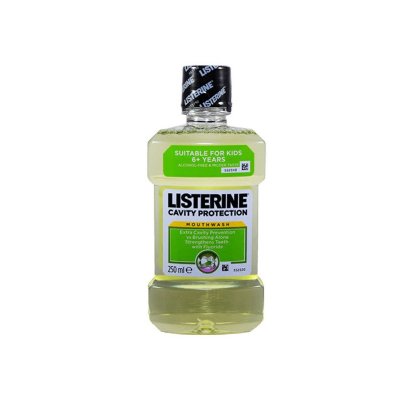 LISTERINE MOUTH WASH CAVITY PROTECTION