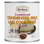 Graced sweetened condensed milk