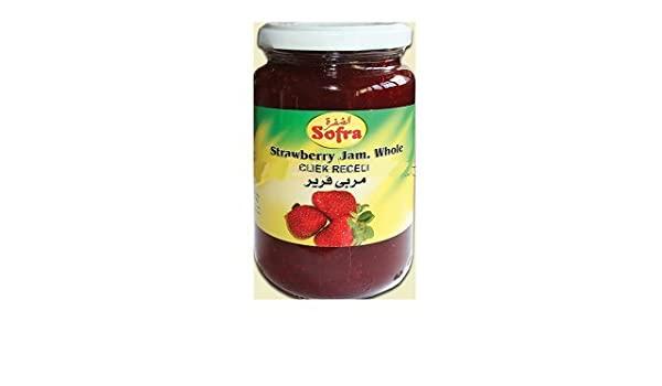 Sofra strawberry jam