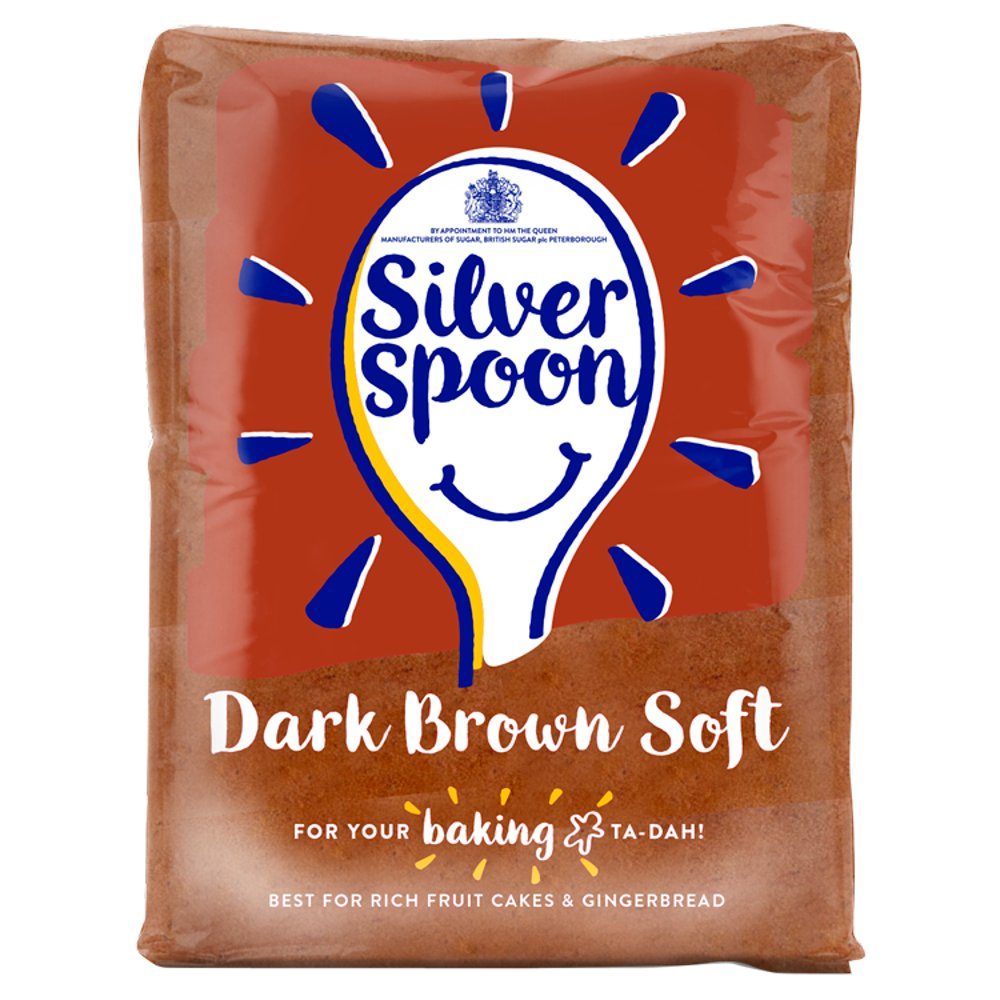 Silver spoon dark brown soft