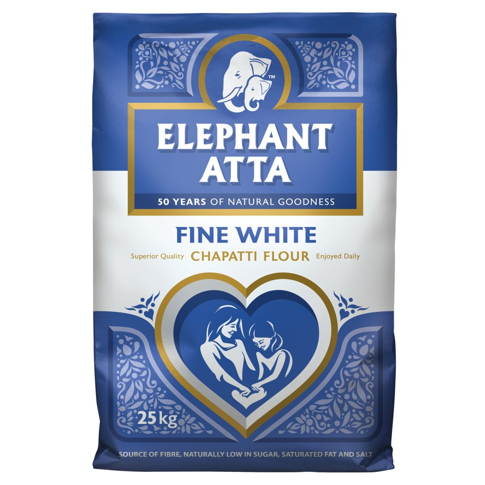 ELEPHANT ATTA WHITE