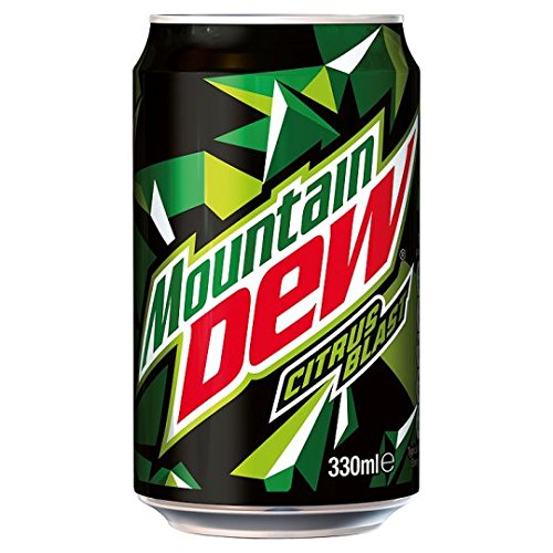 Mountain Dew Citrus Blast Can
