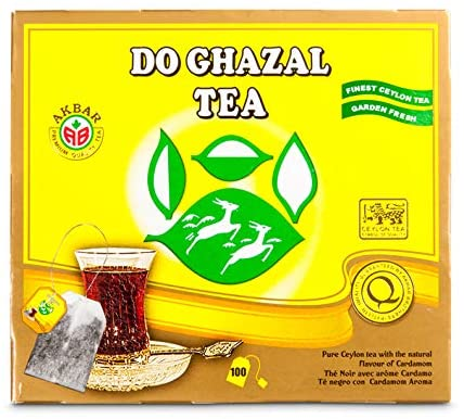 Do  ghazal pure Ceylon tea
