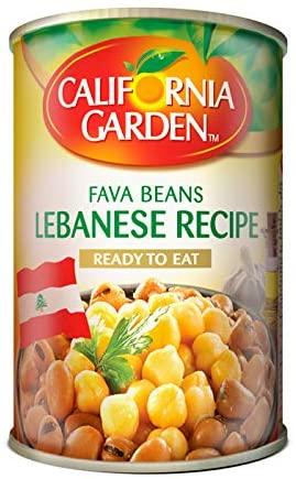 California garden plain fava beans