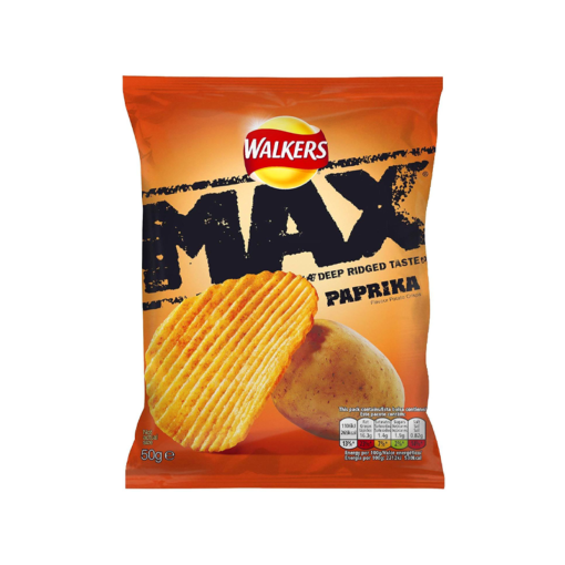 Walkers Max Paprika