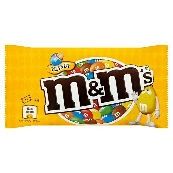 M&Ms Peanuts
