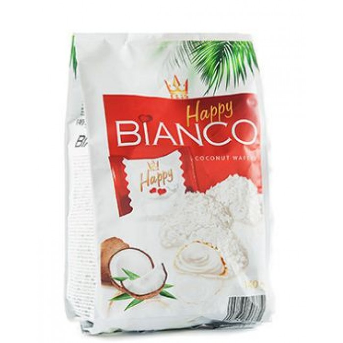 Happy Bianco coconut wafers