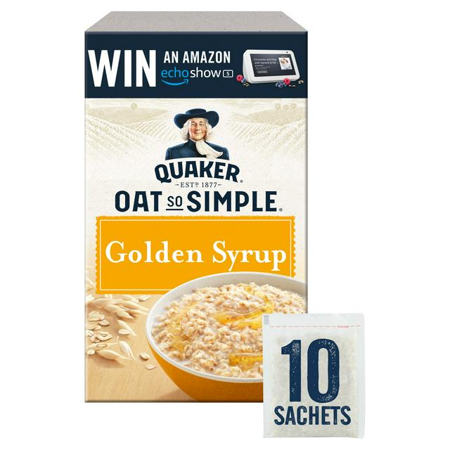 Quaker Oats simple golden syrup