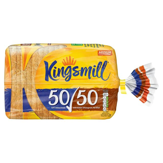 Bread kingsmill 50/50