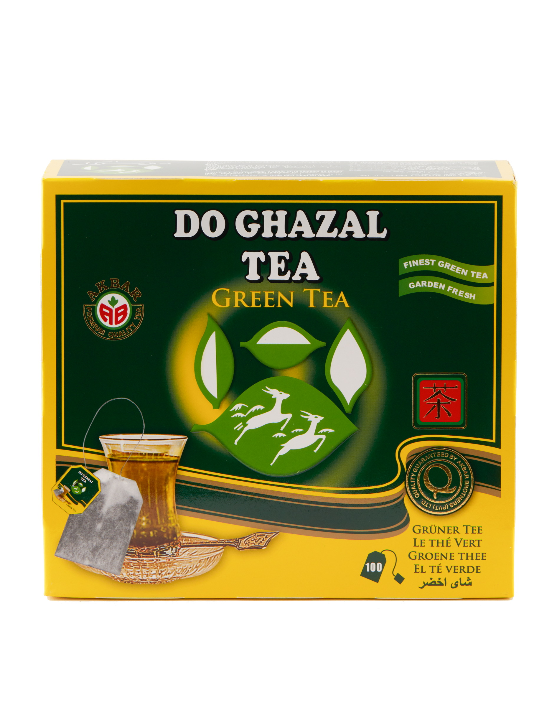 Do ghazal green tea