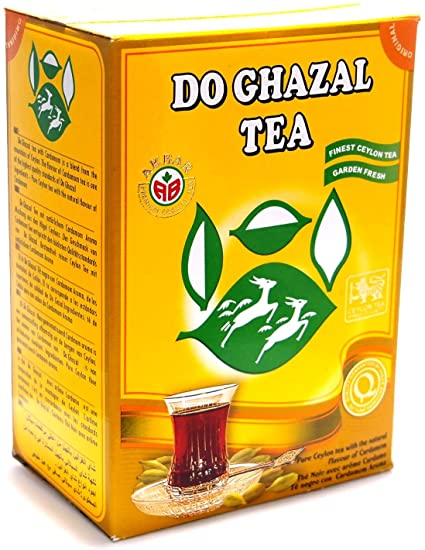 Do ghazal finest Ceylon cardamom loose tea