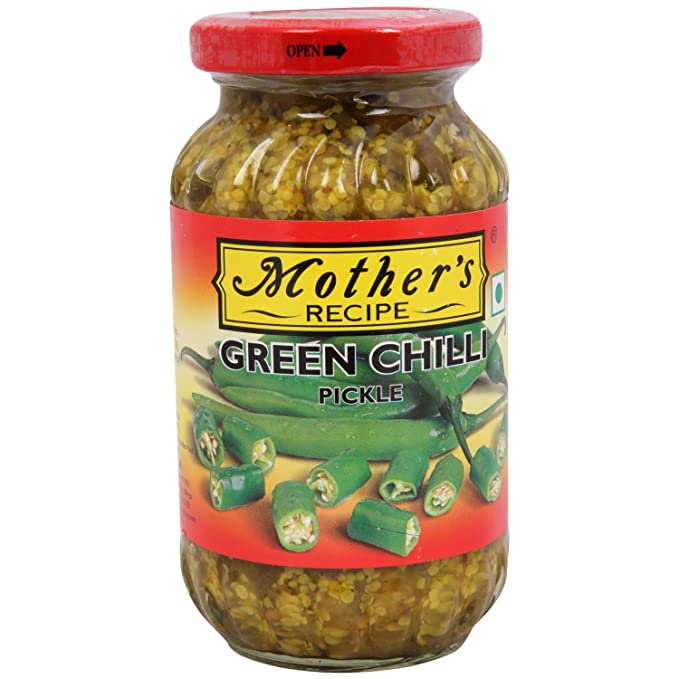 Mothers Green Chilli Pickle