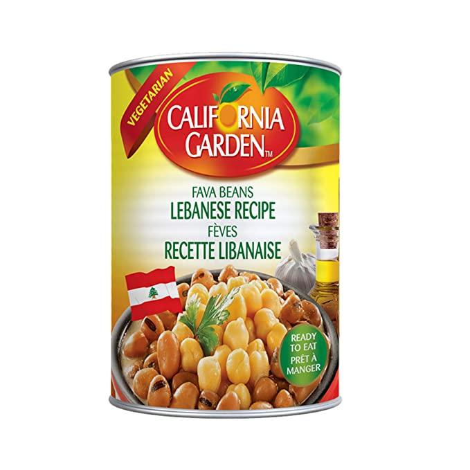 California garden Lebanese recipe