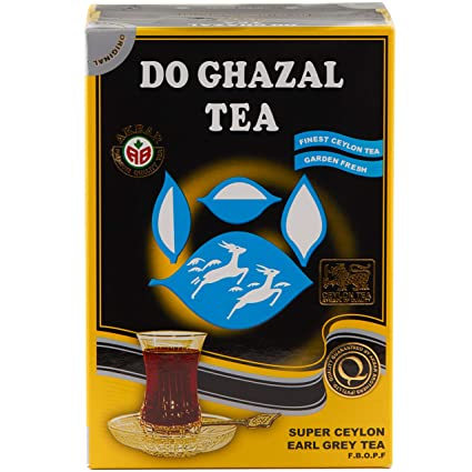 Do ghazal super Ceylon earl grey loose tea