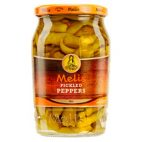 Melis pickled hot peppers