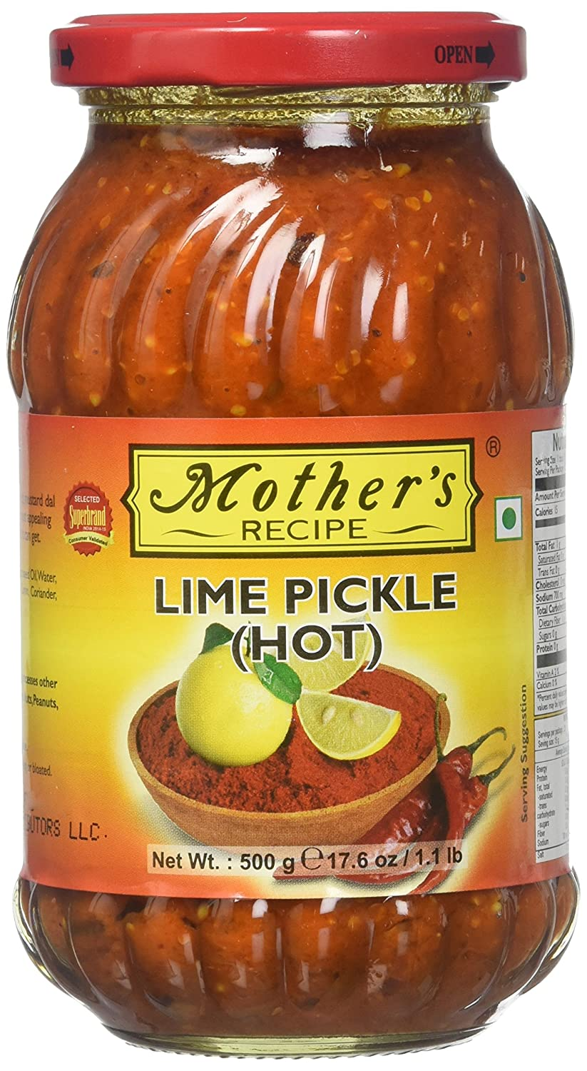 Mothers Lime Pickle (Hot)