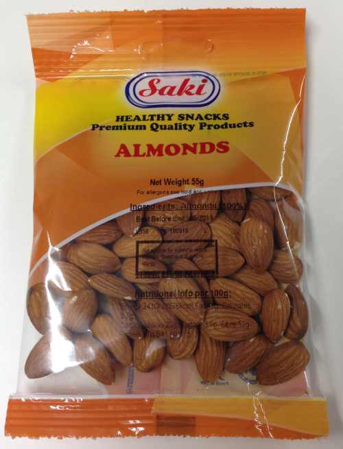 Saki Almonds Roasted & Salted