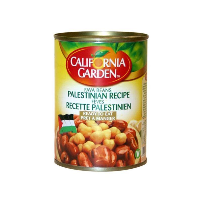 California garden Palestinian recipe
