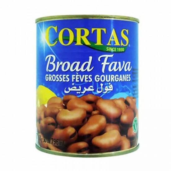 Cortas broad fava beans