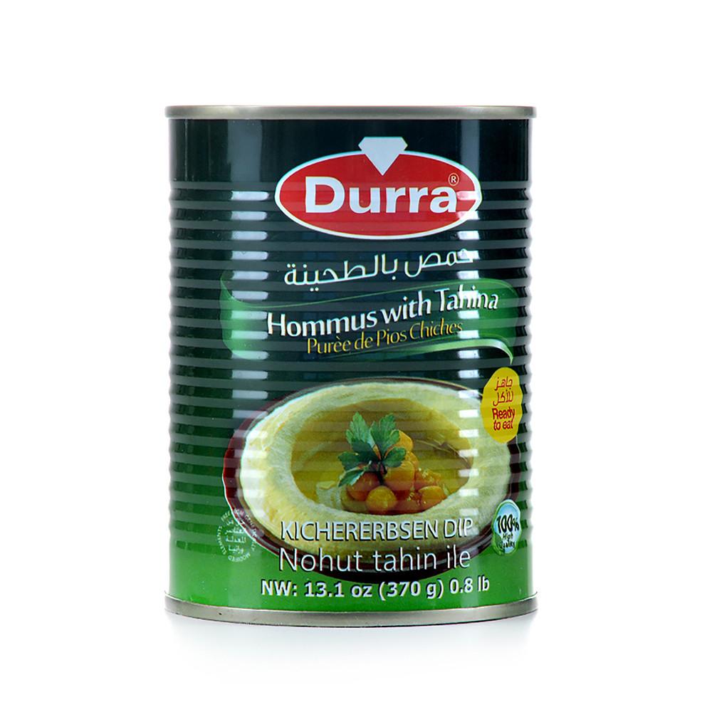 Durra hummos with tahina