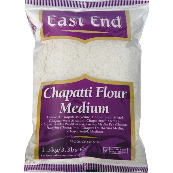 EAST END CHAPPATI FLOUR MEDIUM