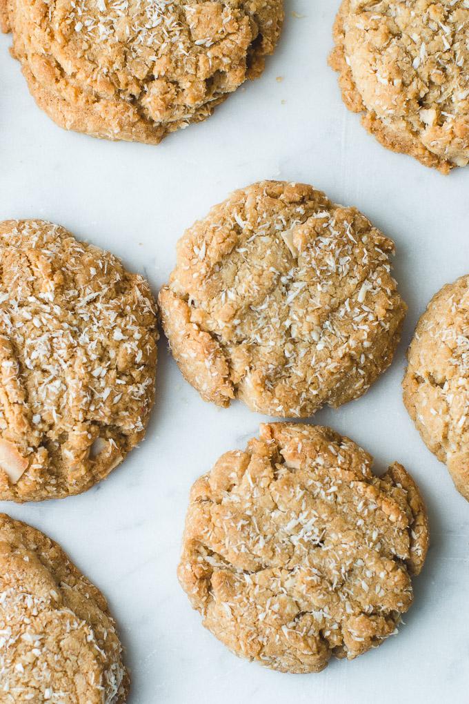 Handmade cookies coconut