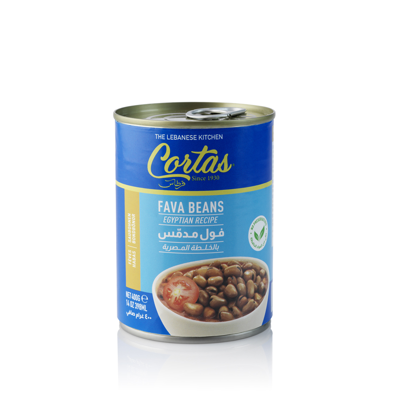 Cortas fava beans Egyptian recipe