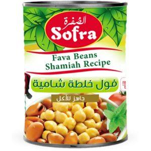 Sofra fava beans shamiah recipe