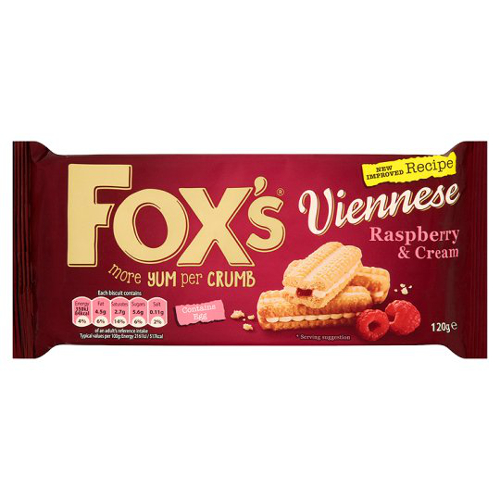 Fox's melts raspberry