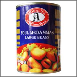 Monalisa foul medannas large beans