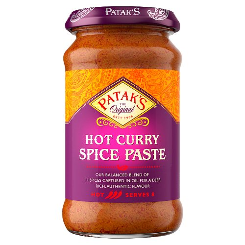 Patkas Hot Curry Spice Paste