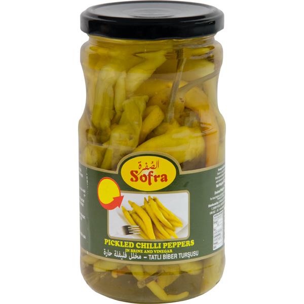 Sofra pickled chilli peppers
