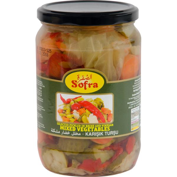 Sofra mixed vegetables