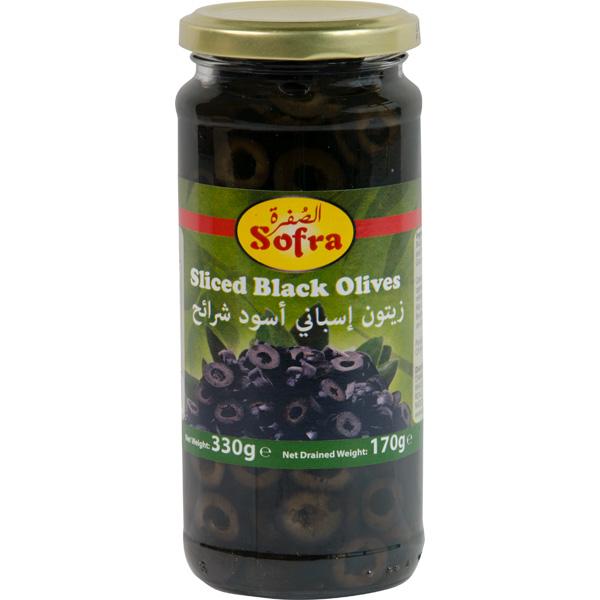 Sofra Sliced Black Olives