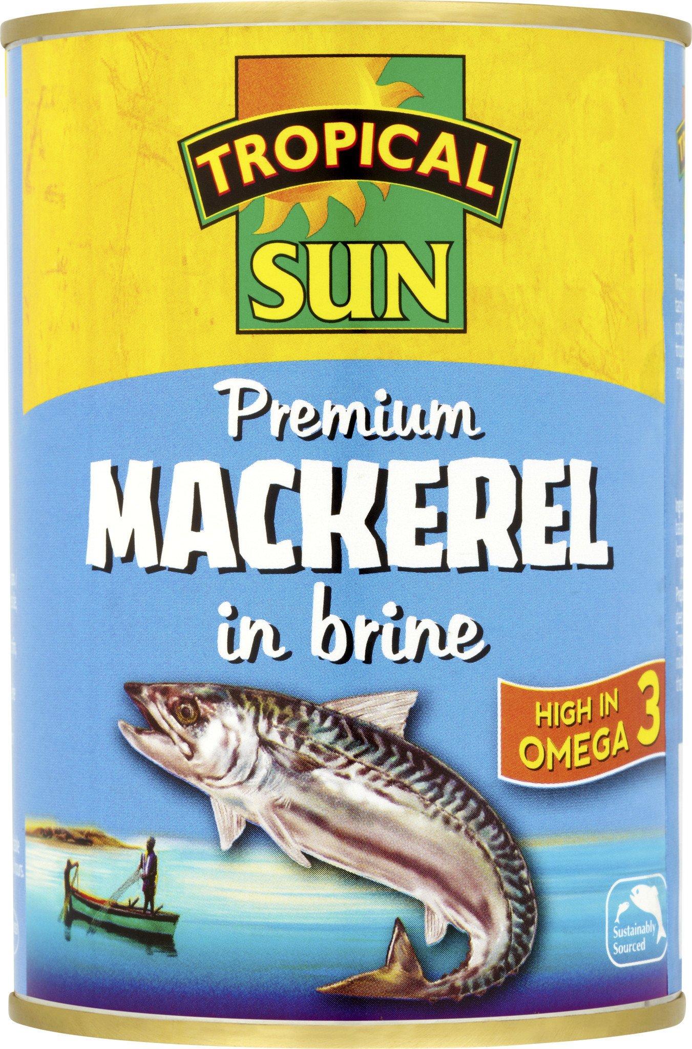 Tropical Sun Mackerel In Brine