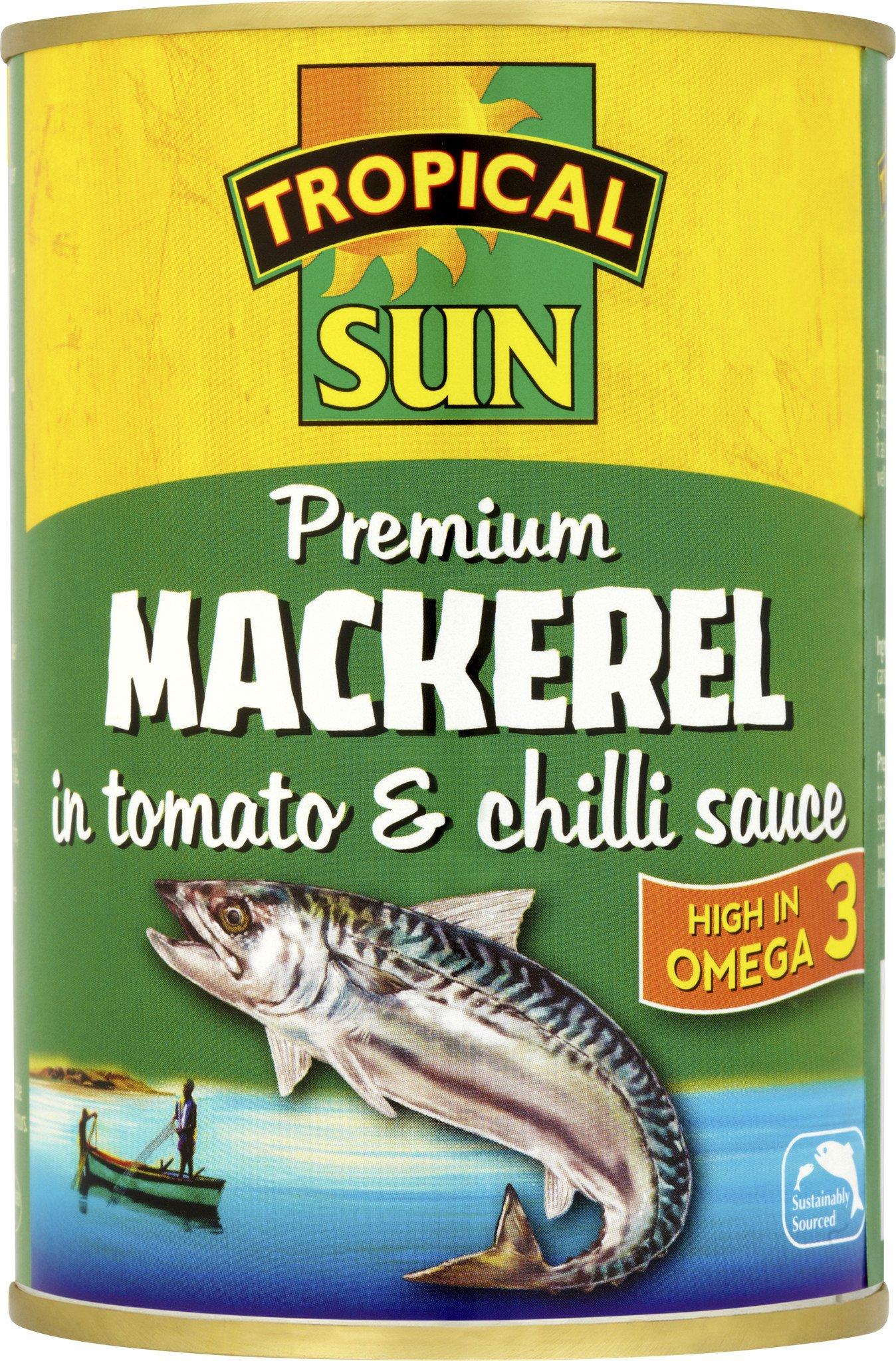 Tropical Sun Mackerel In Tomato & Chilli Sauce