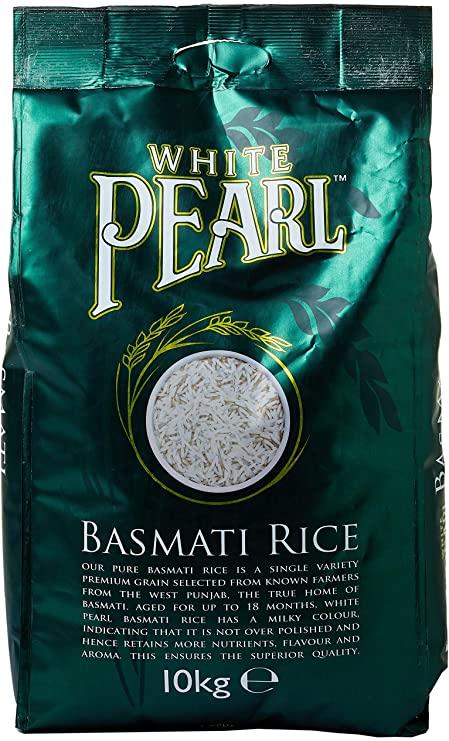 WHITE PEARL BASMATI RICE