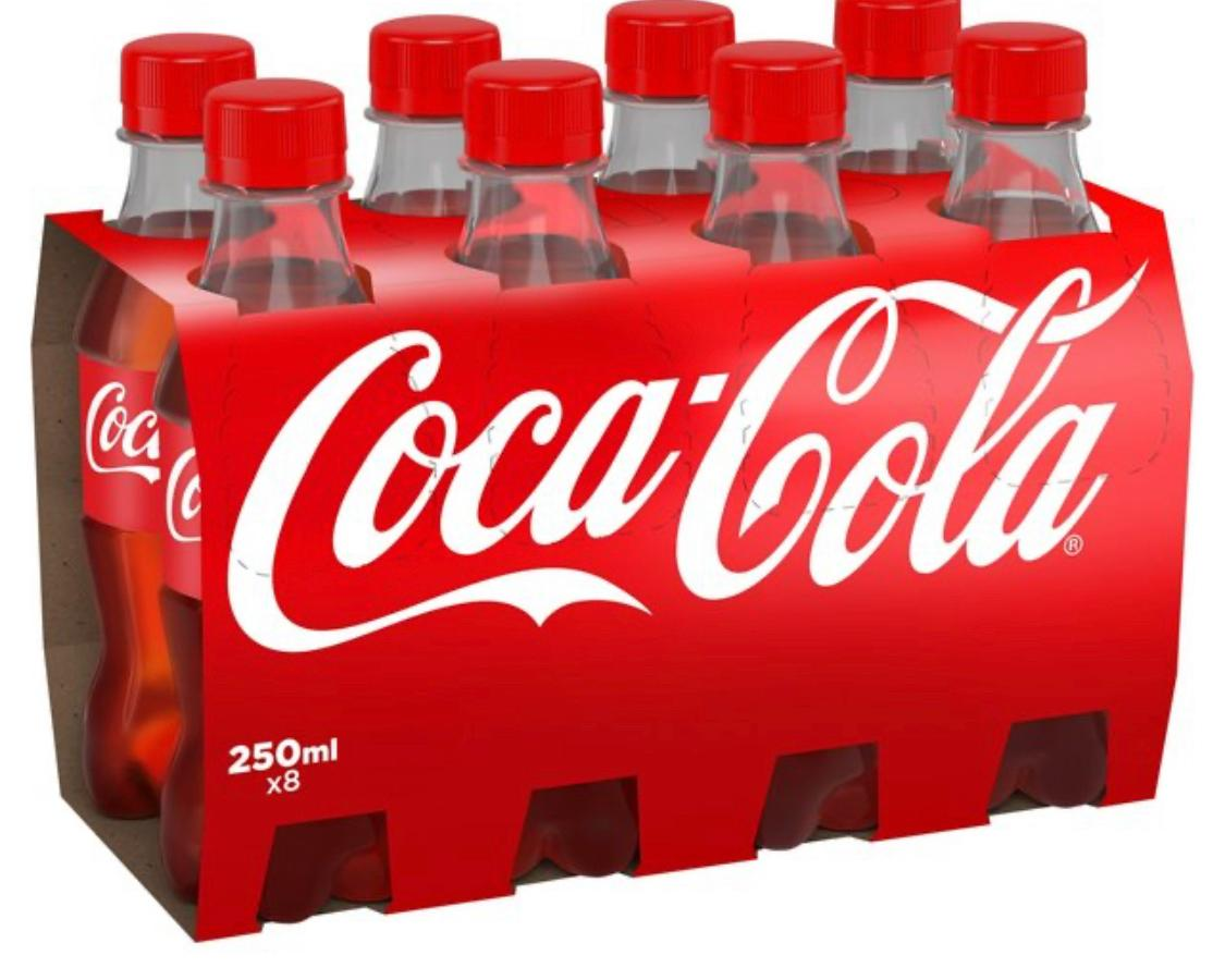 Coke Bottle 8 pack
