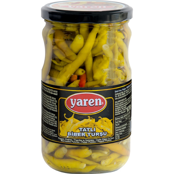 Yaren peppers pickle