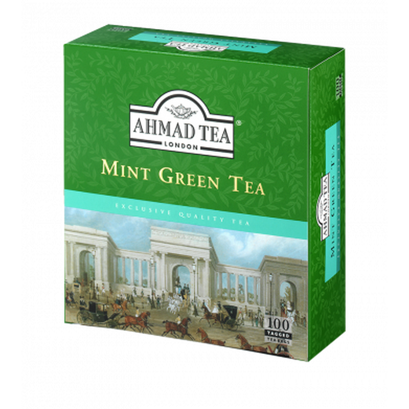 Ahmed mint green loose tea