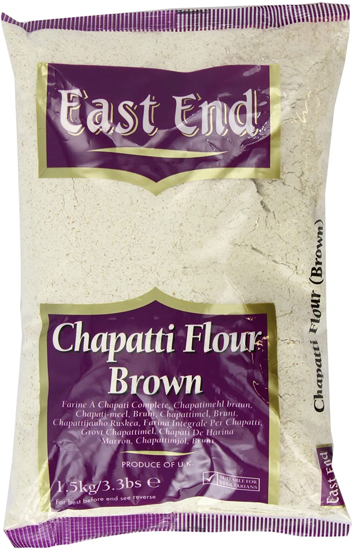 EAST END CHAPPATI ATTA BROWN