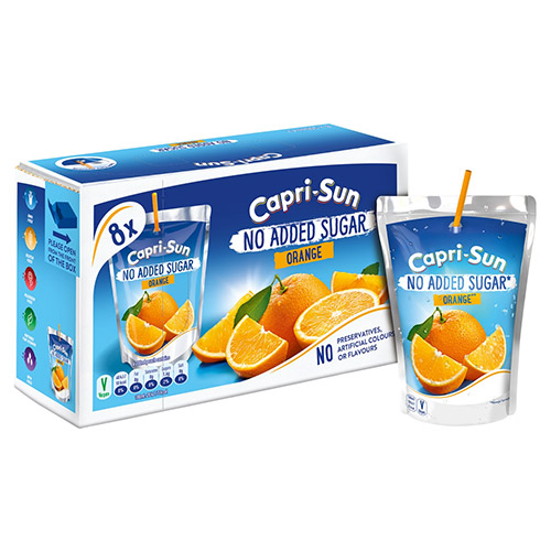 Capri-sun 8 Pack Blackcurrant