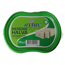 Aytac halva with pistachio