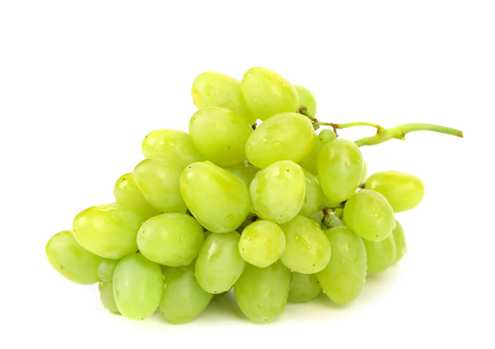 Loose Green Grapes